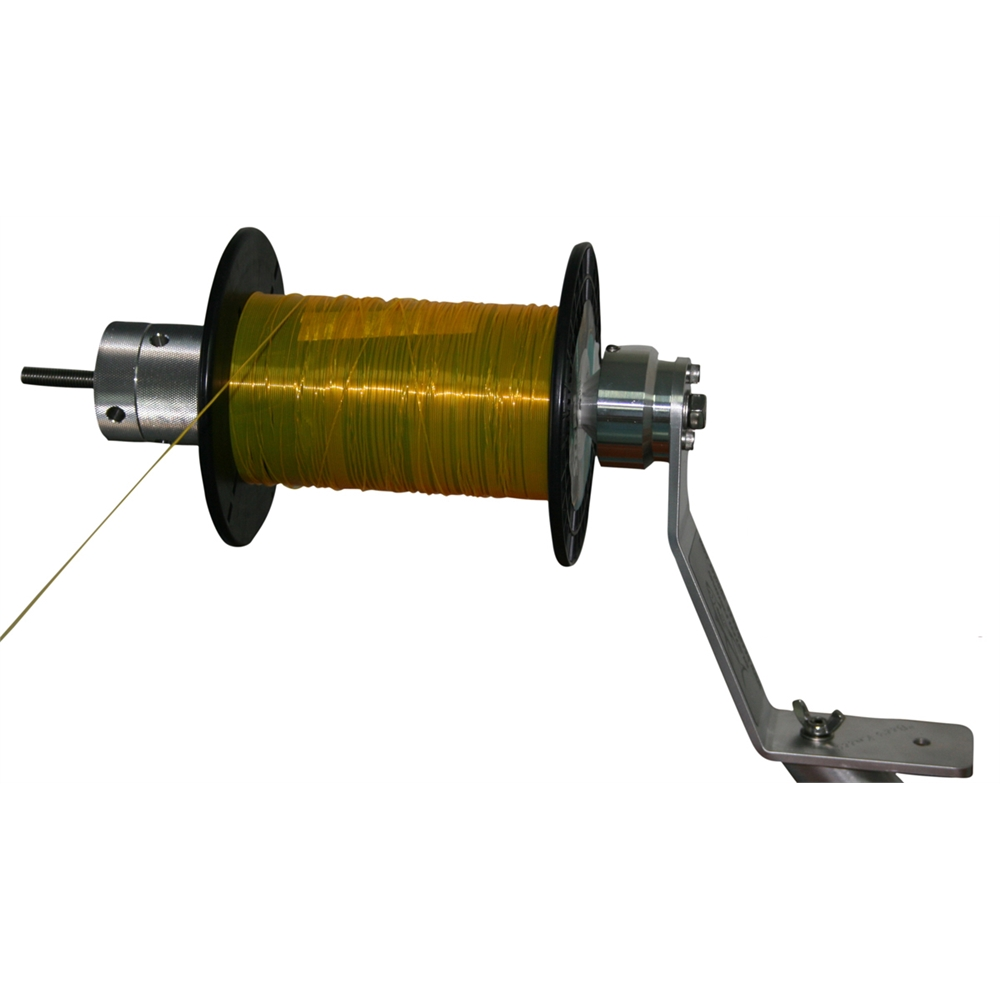 Bees knees fishing reel spooler from wellsys tackle for Electric fishing line spooler