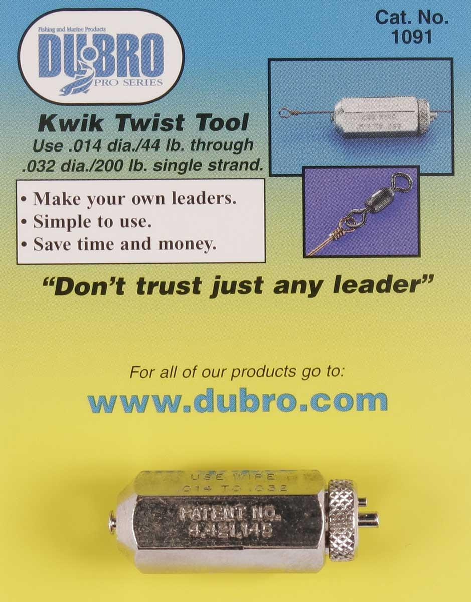 DuBro Kwik Twist Fishing Wire Leader Tool from Wellsys Tackle