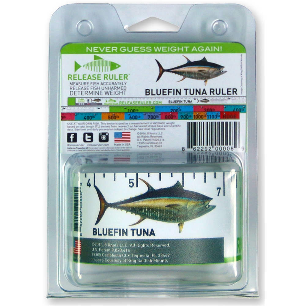 Game Fishing Release Ruler BLUEFIN TUNA