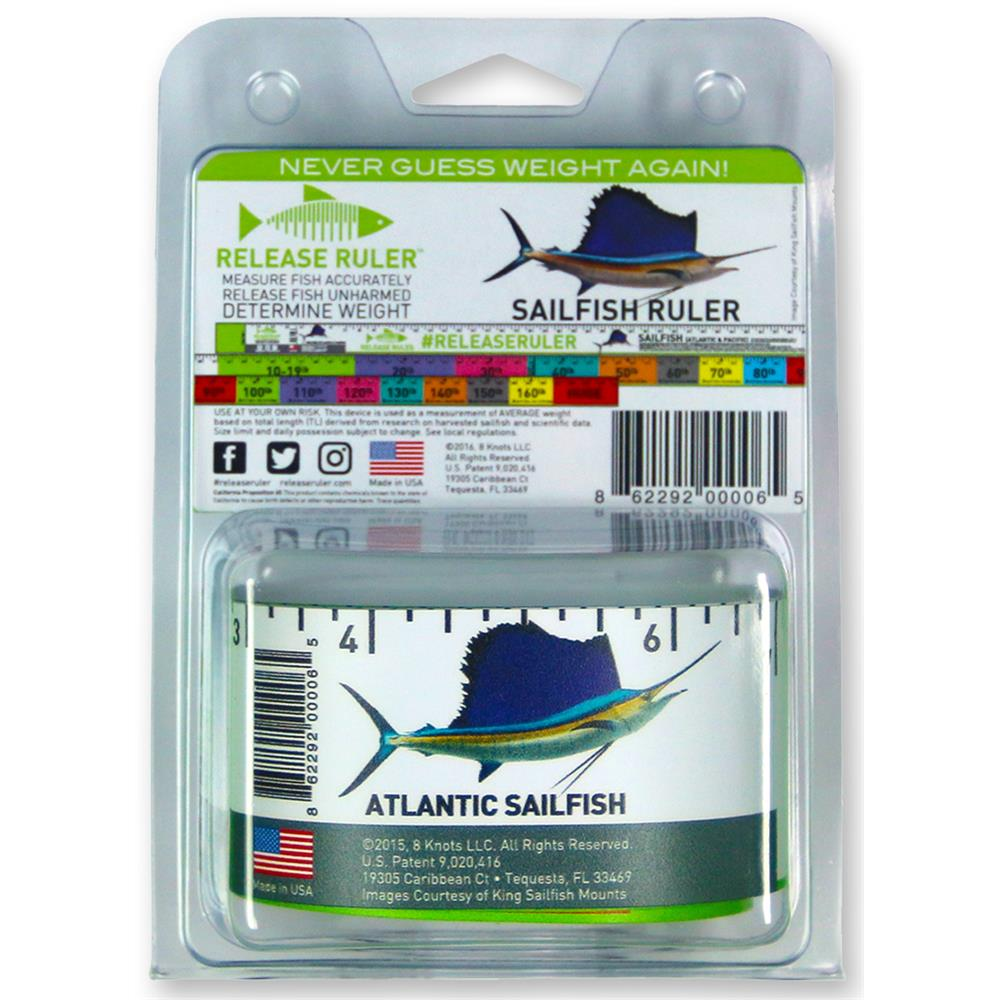 Game Fishing Release Ruler SAILFISH