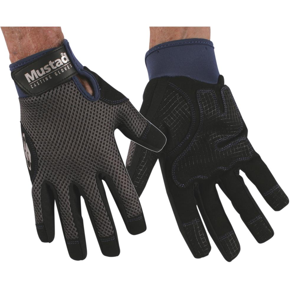 Mustad CASTING - Fishing GLOVES
