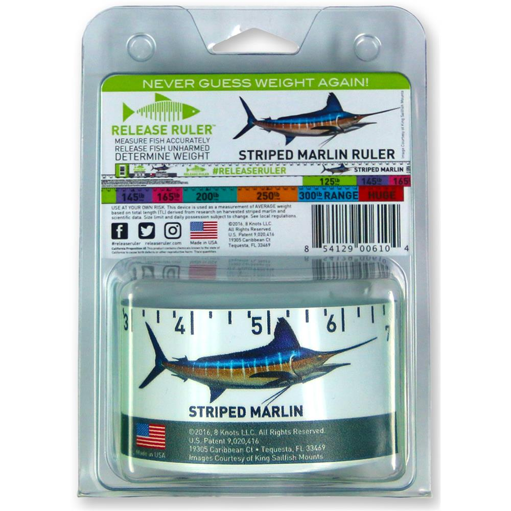 Release Ruler Striped Marlin